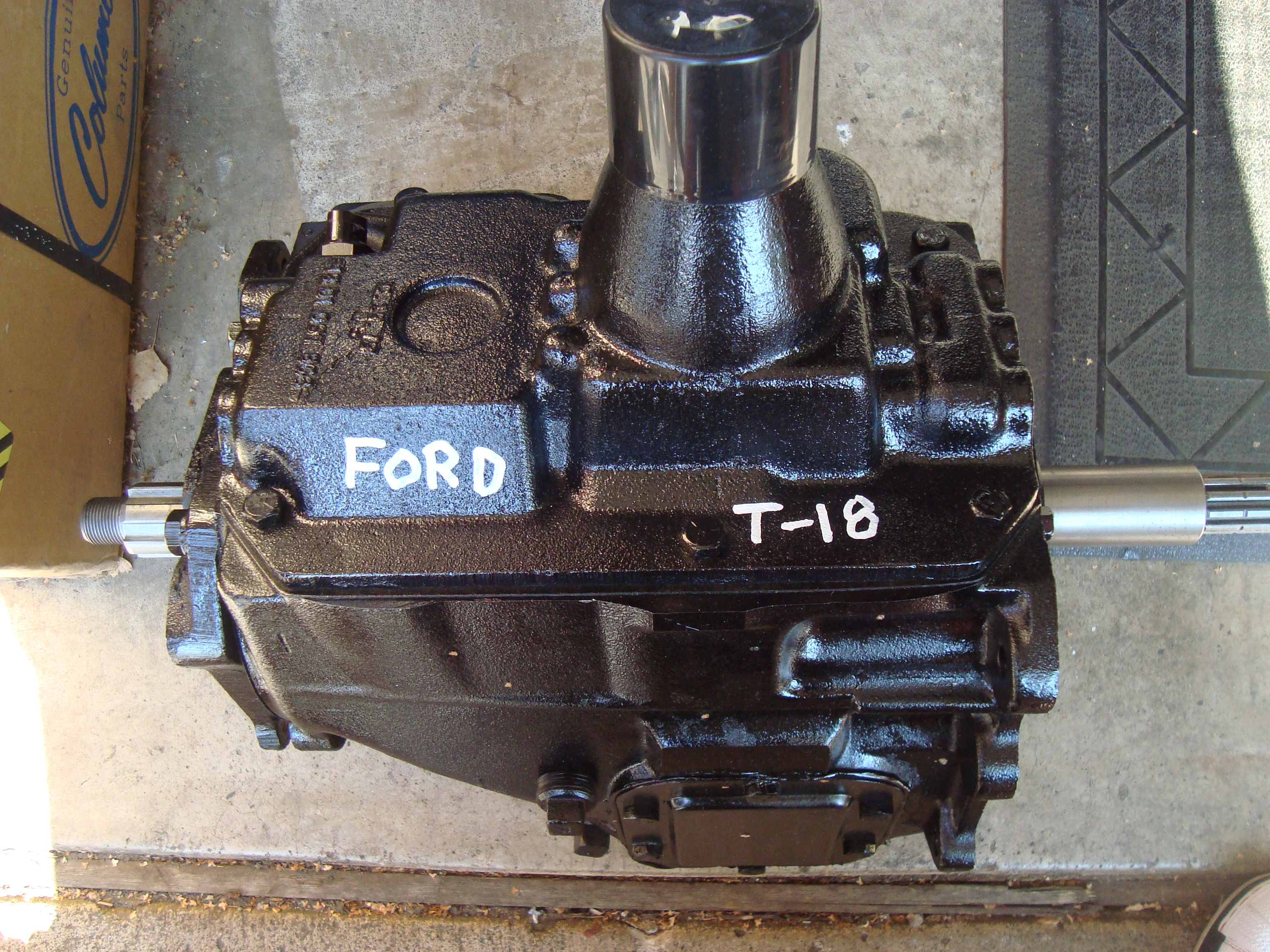 Rebuilt T-18 (Ford Pattern) 4 Speed, $1100 | Herm The