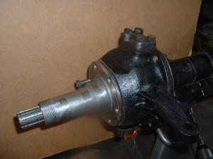 left hand knuckle (heavy duty) with stock spindle bolted to #27 front housing